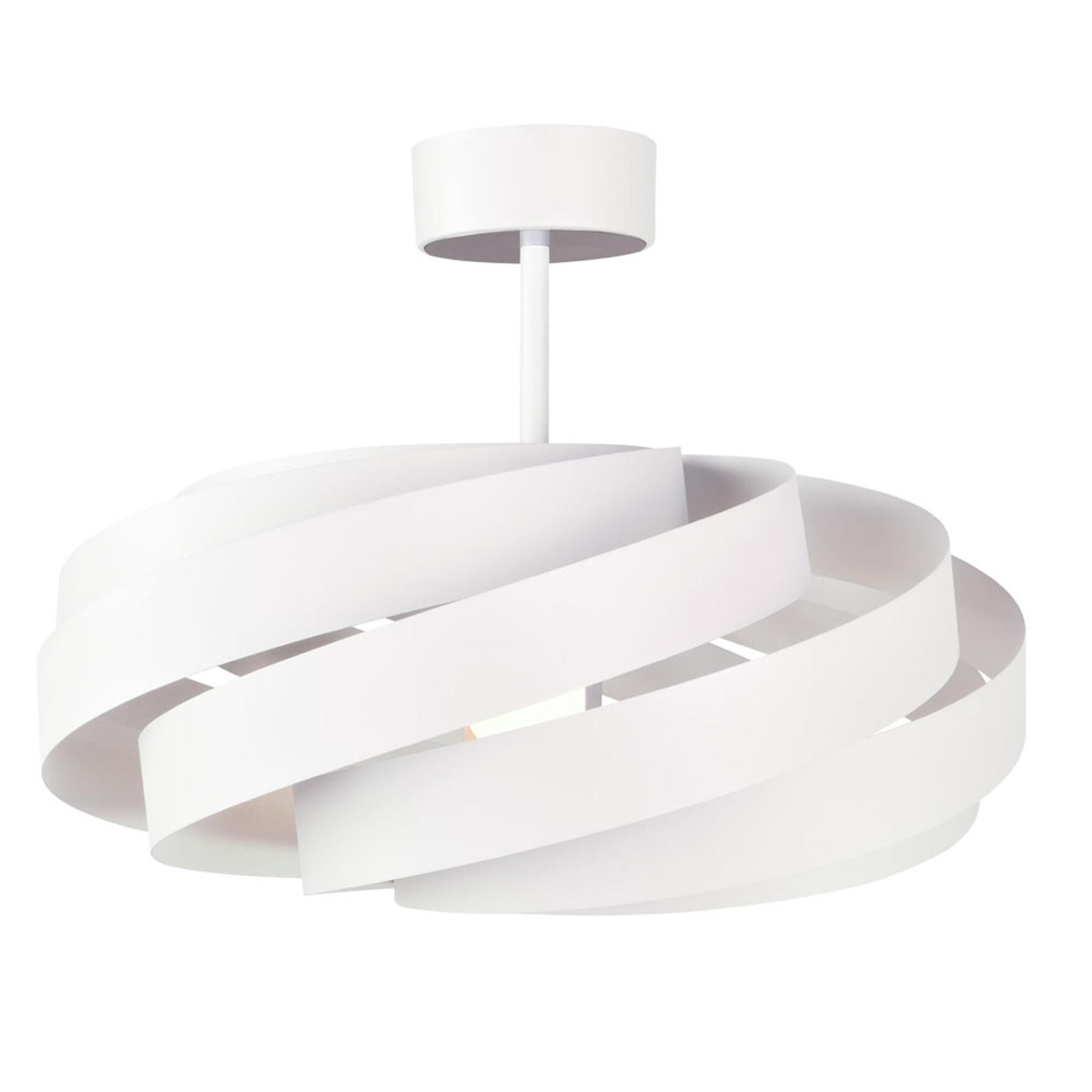 Lampa sufitowa Vento, biała Ø 50cm