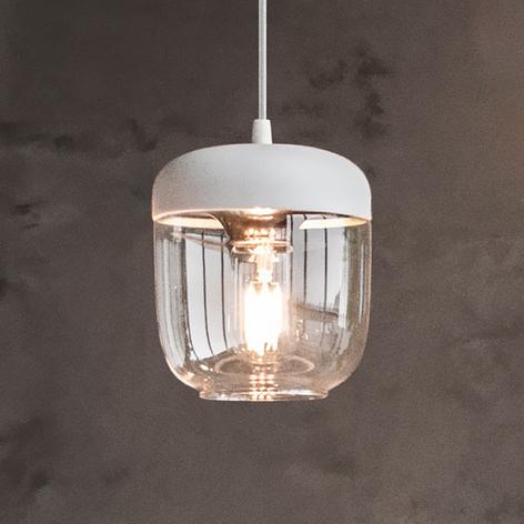 UMAGE Acorn lámpara colgante blanco/cobre