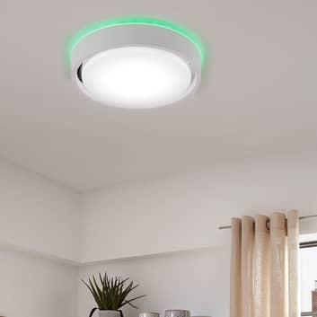 LED-taklampe Talena M RGB CCT, med sensor