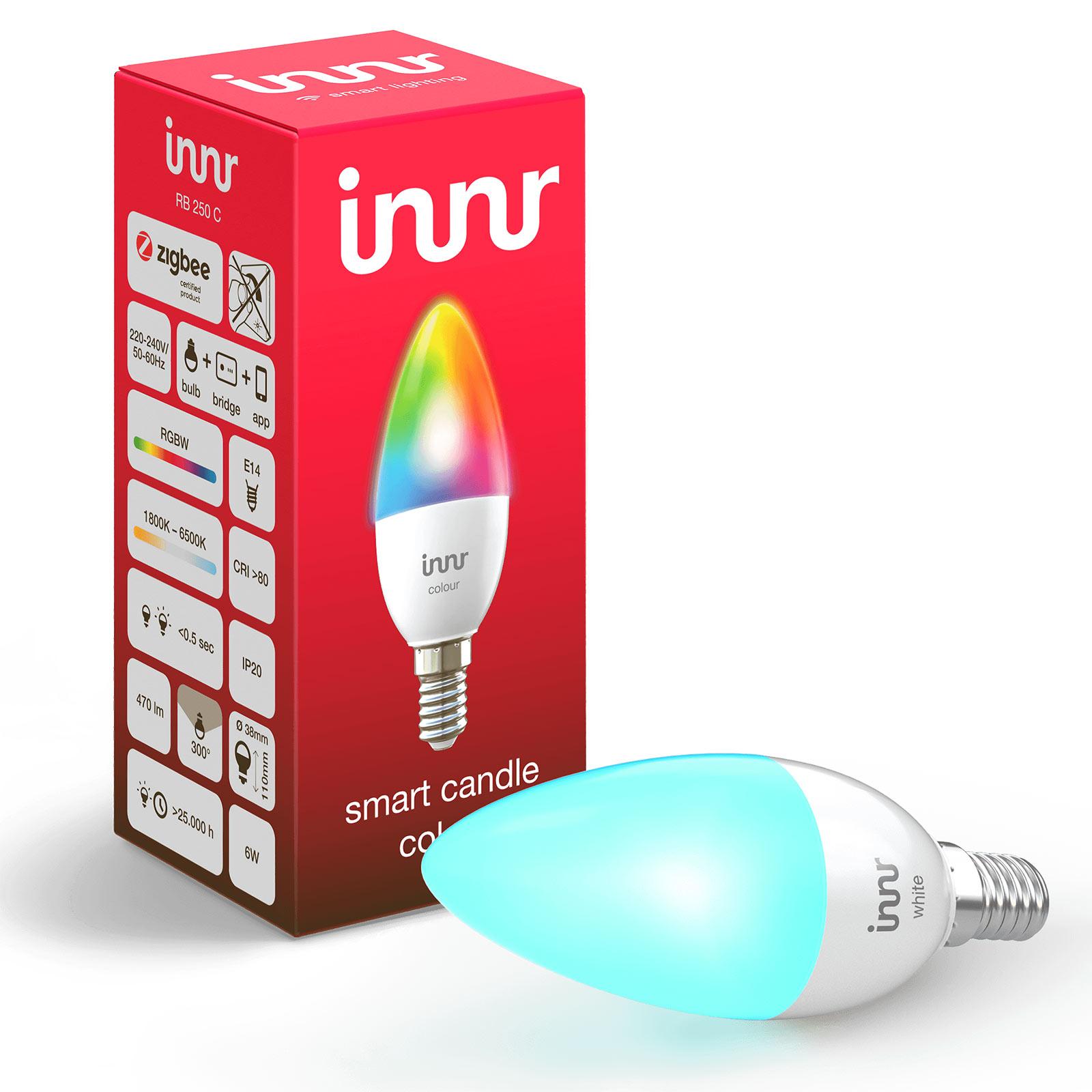 E14 6W LED lamp Innr Smart Candle Colour RGBW