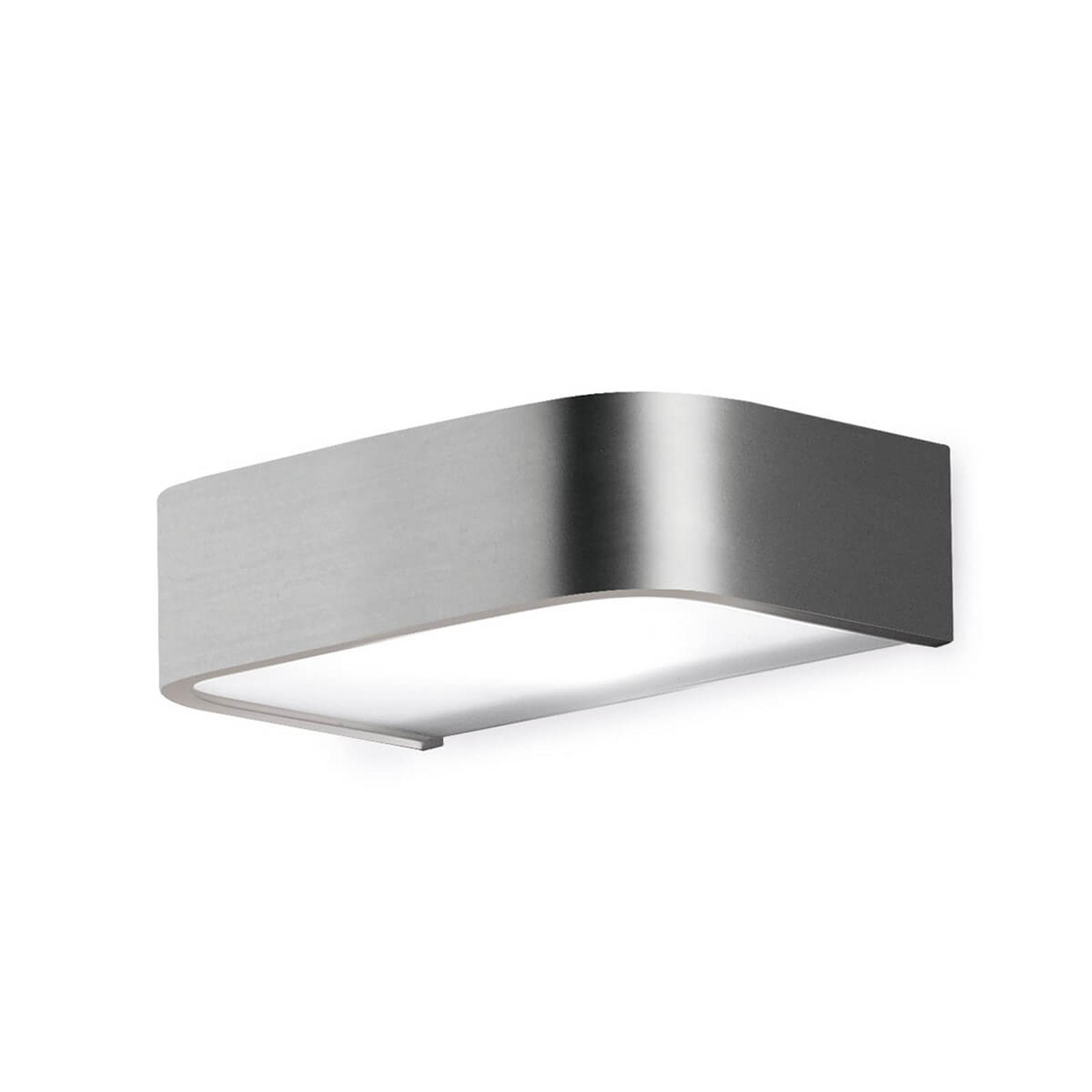 Applique de salle de bain Arcos LED, 15cm nickel