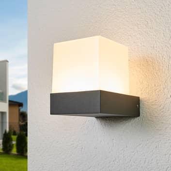 Pelina - LED-utevegglampe med terningform