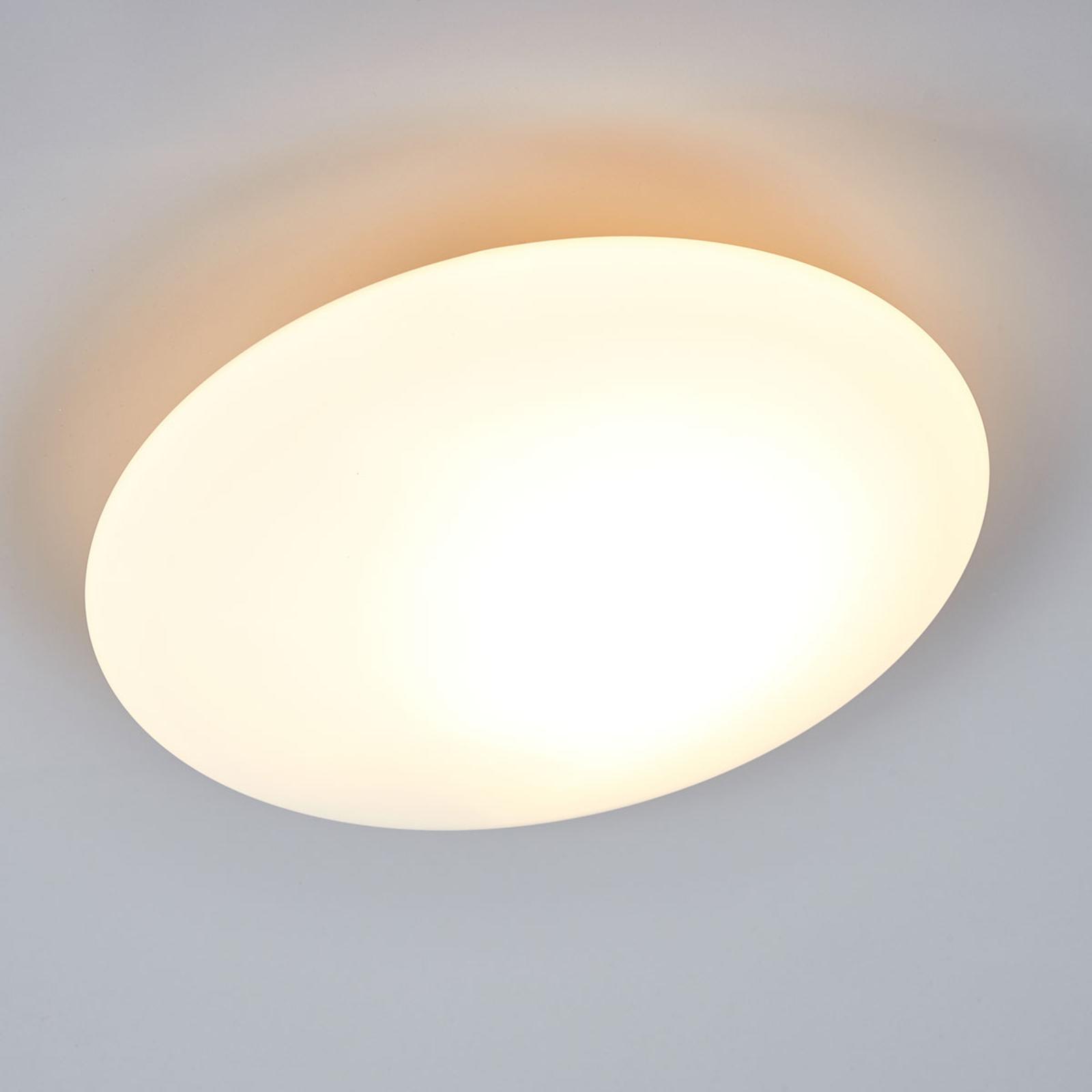 Szklana lampa sufitowa OPAL 30 cm