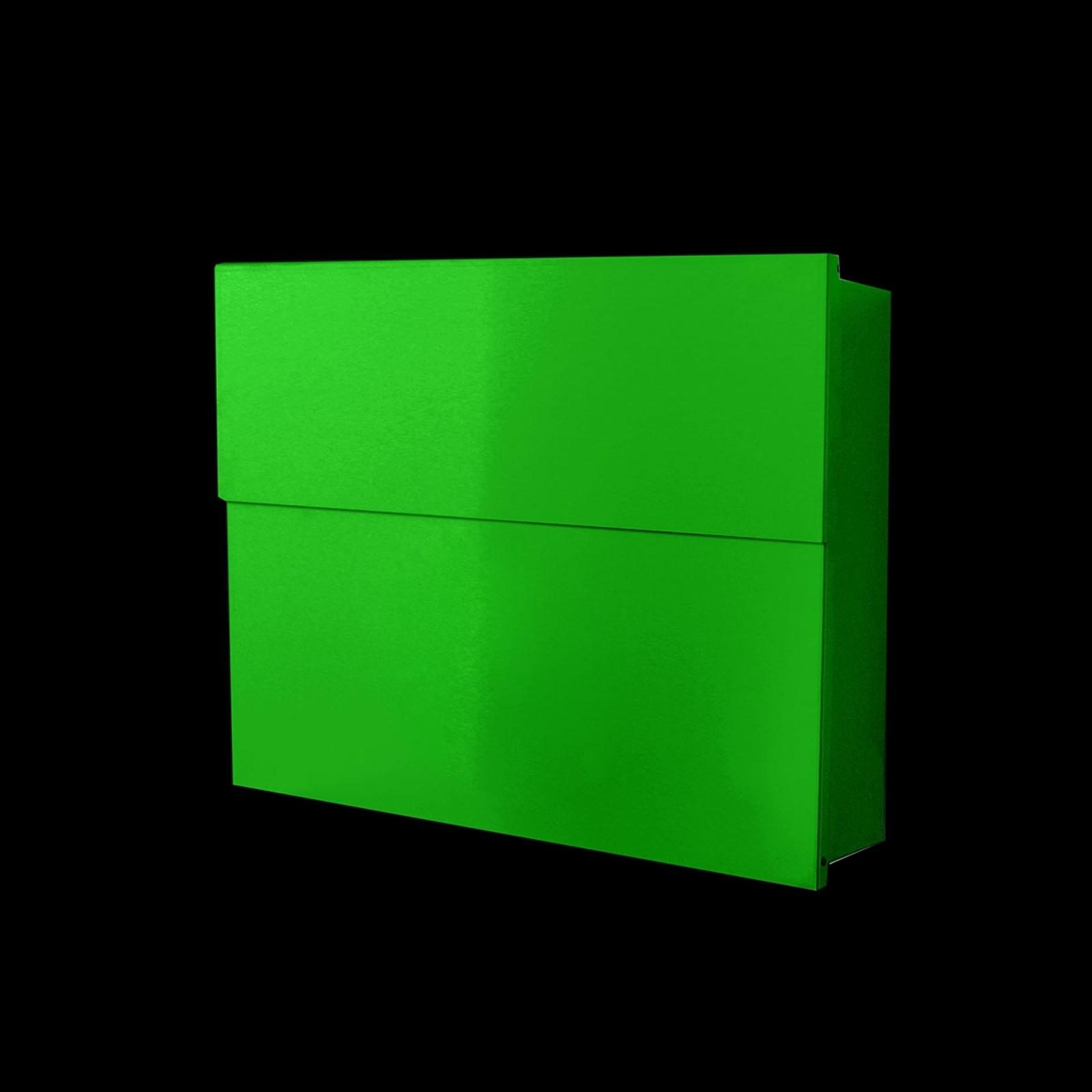 Fin postkasse Letterman XXL II, grønn