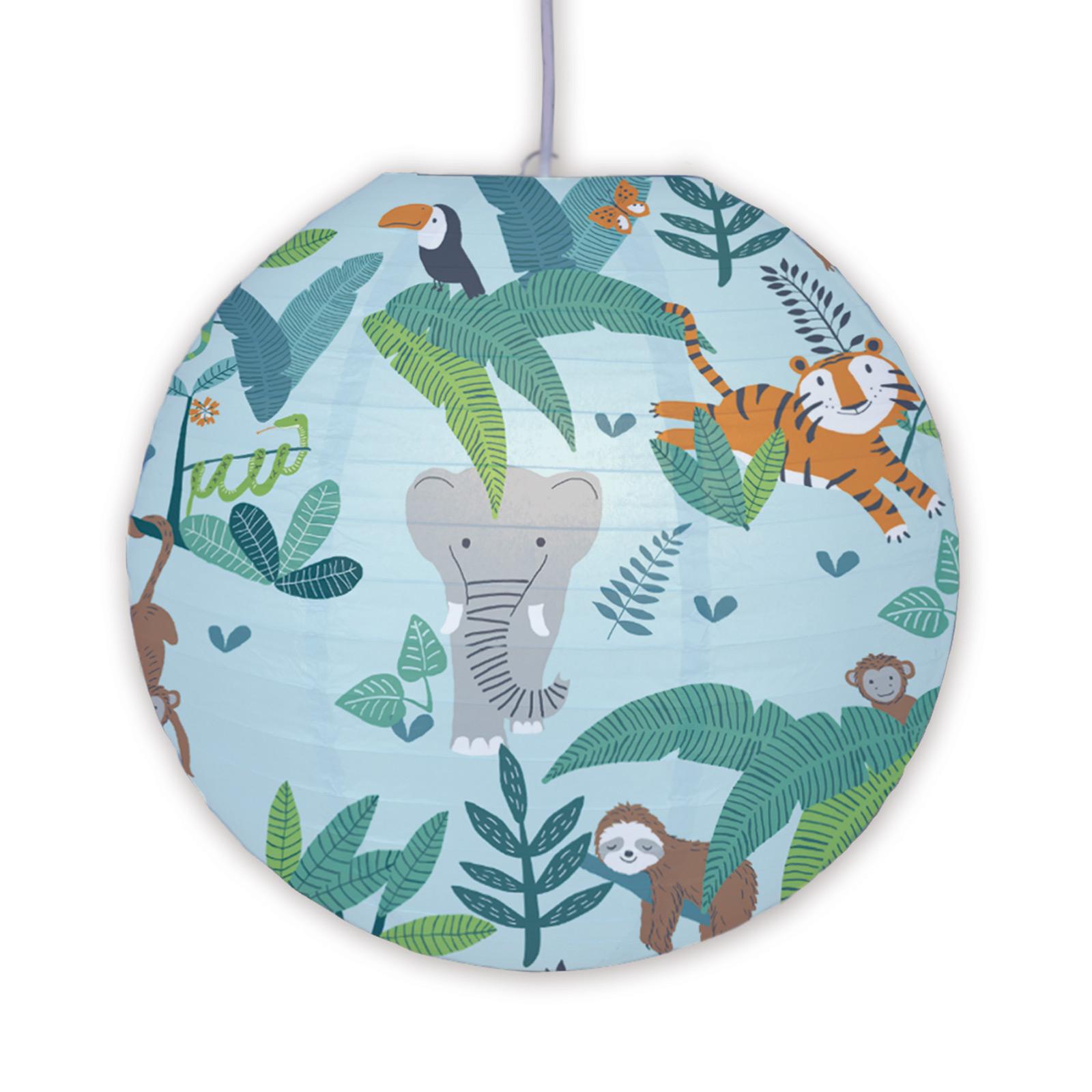 Hanglamp 4117002 motief jungledieren