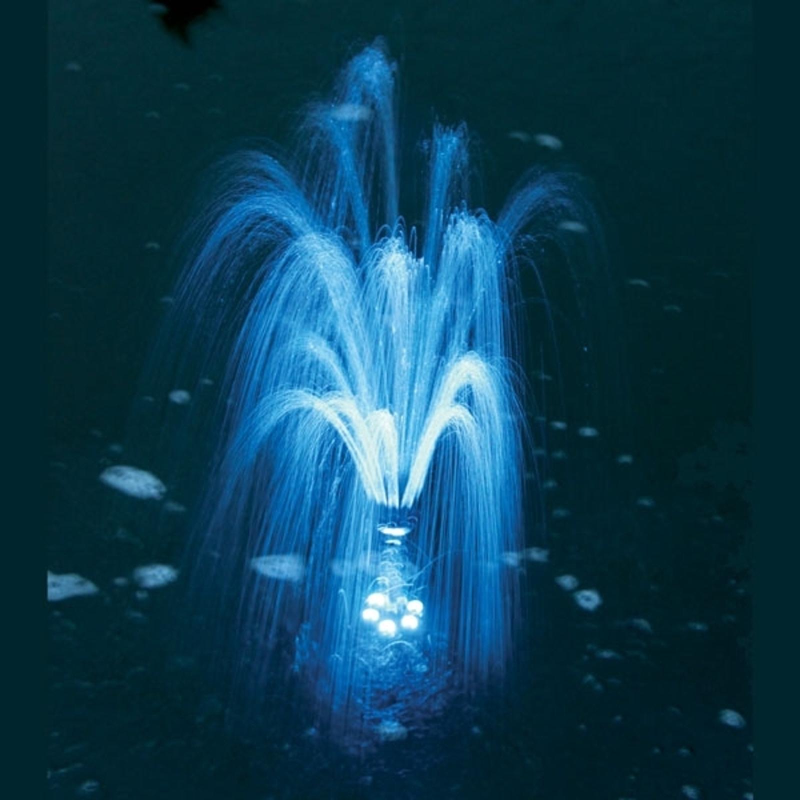 Lumière LED pompe bassin Napoli/Siena bleu
