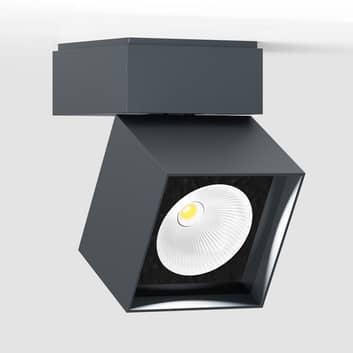IP44.de pro S LED-Außendeckenspot eckig, anthrazit