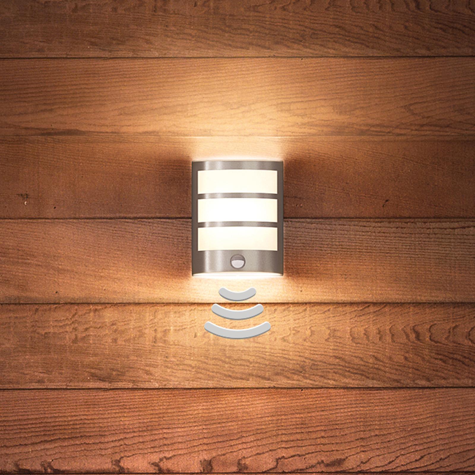 Philips Python LED-Sensor-Außenwandleuchte