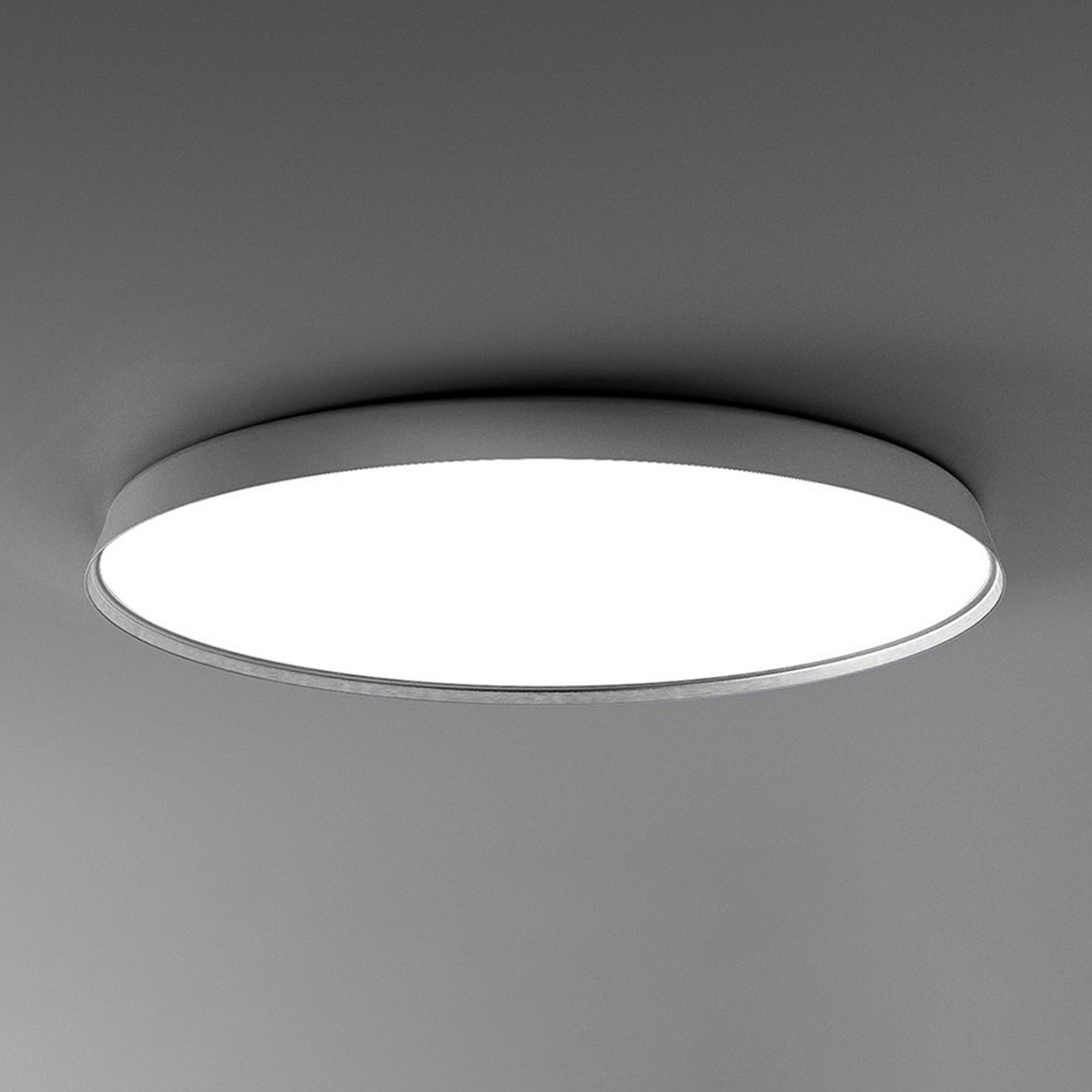 Luceplan Compendium Plate LED-Deckenlampe, alu