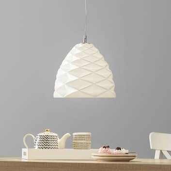 Lámpara colgante Duchessa de cerámica