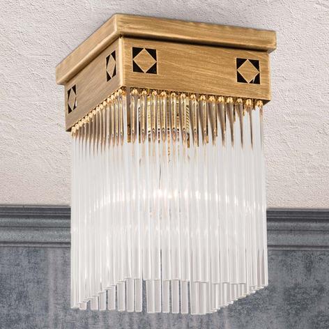 Jugendstil plafondlamp Frieda, 1 lichtbron
