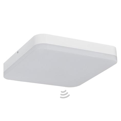 Office Square LED-loftlampe - med sensor