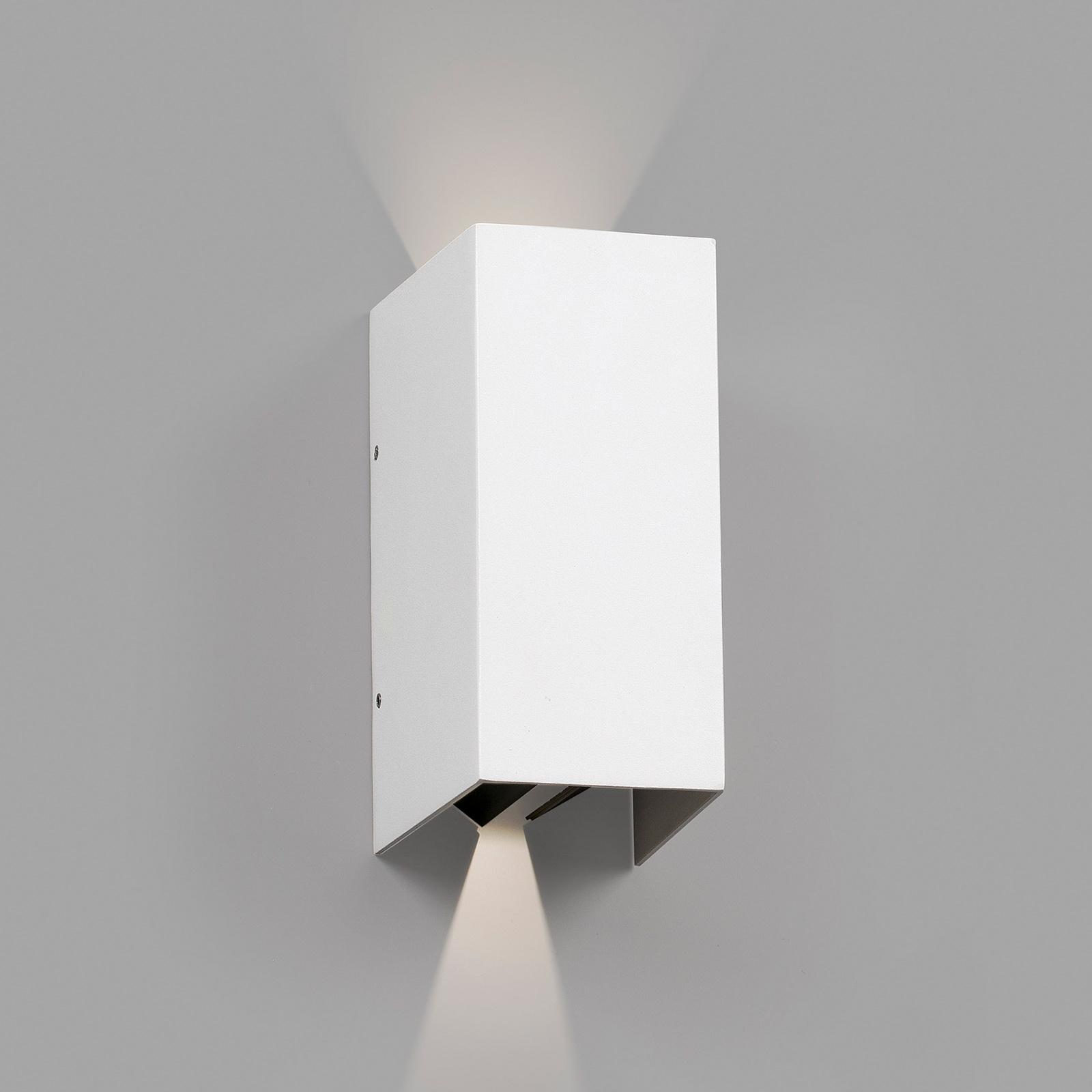 LED-Außenwandleuchte Blind, weiß
