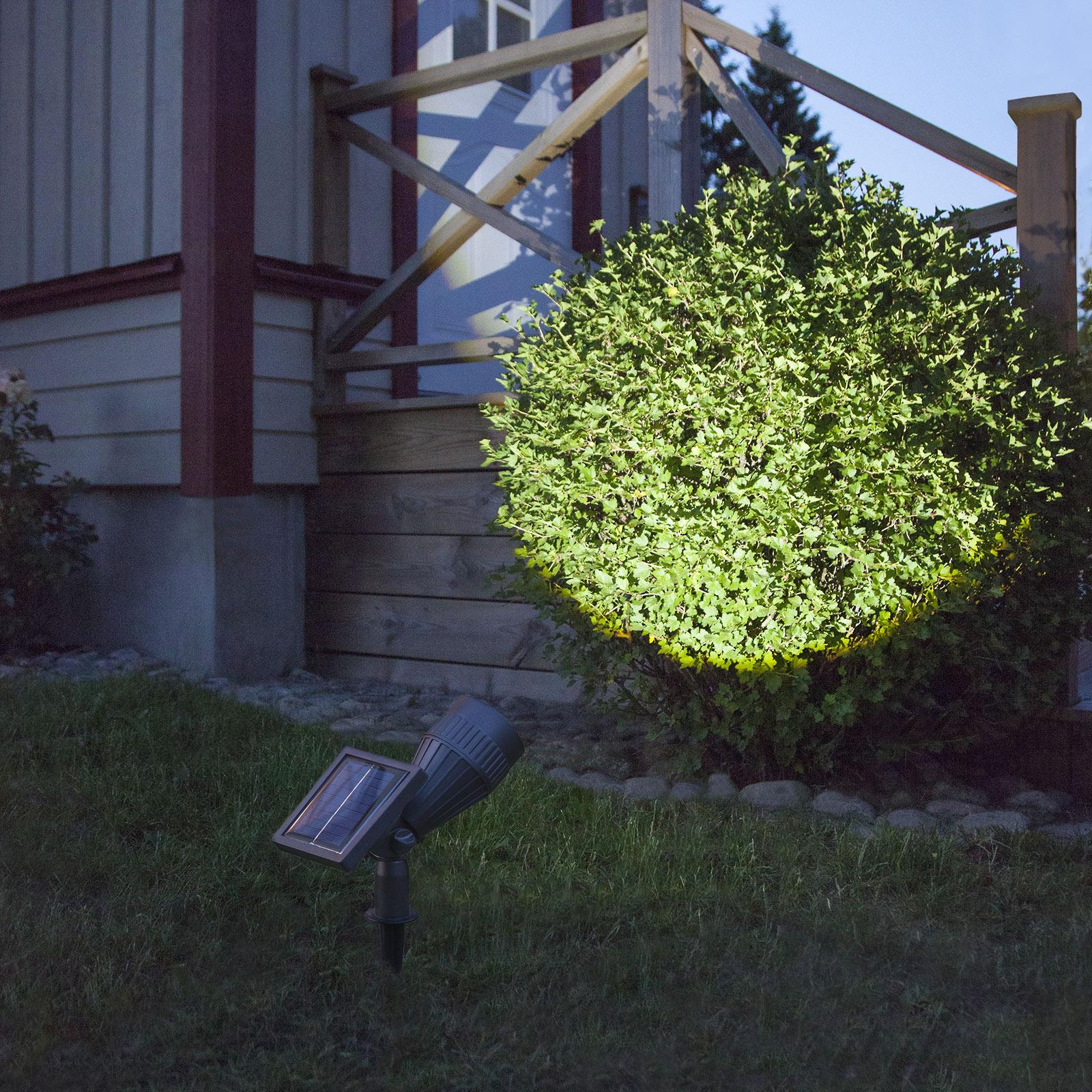 Lampa solarna LED Powerspot, regulowana osłona