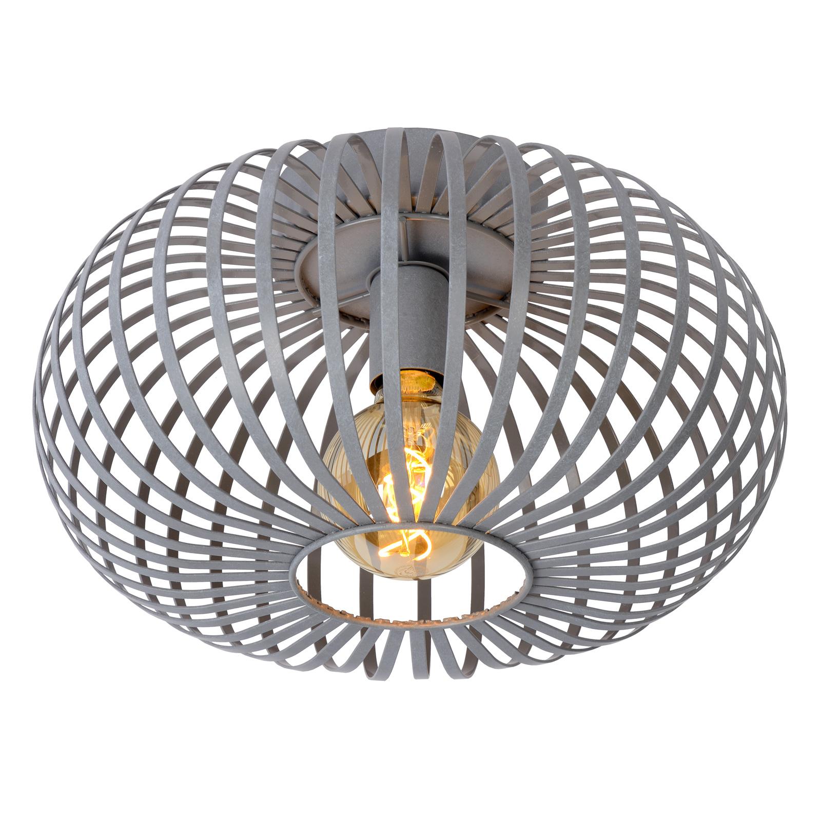 Manuela taklampe, grå Ø 40 cm
