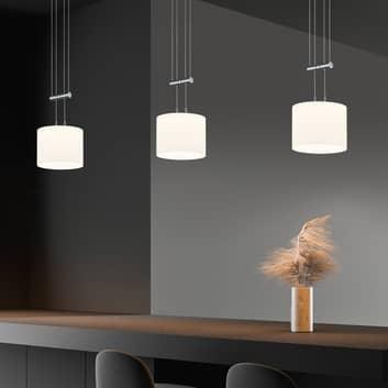 BANKAMP Strada Gracia suspension 3 lampes, 155cm