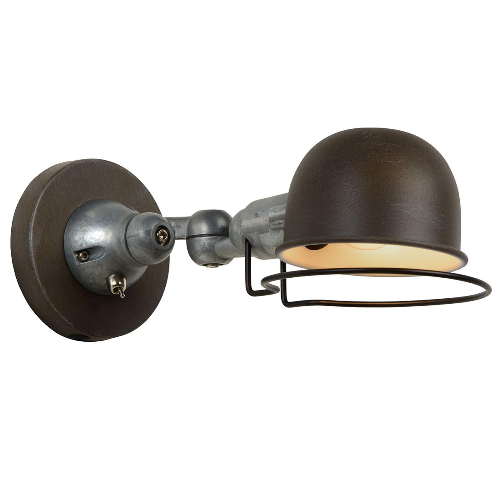 Industrieel ontworpen wandlamp Honore
