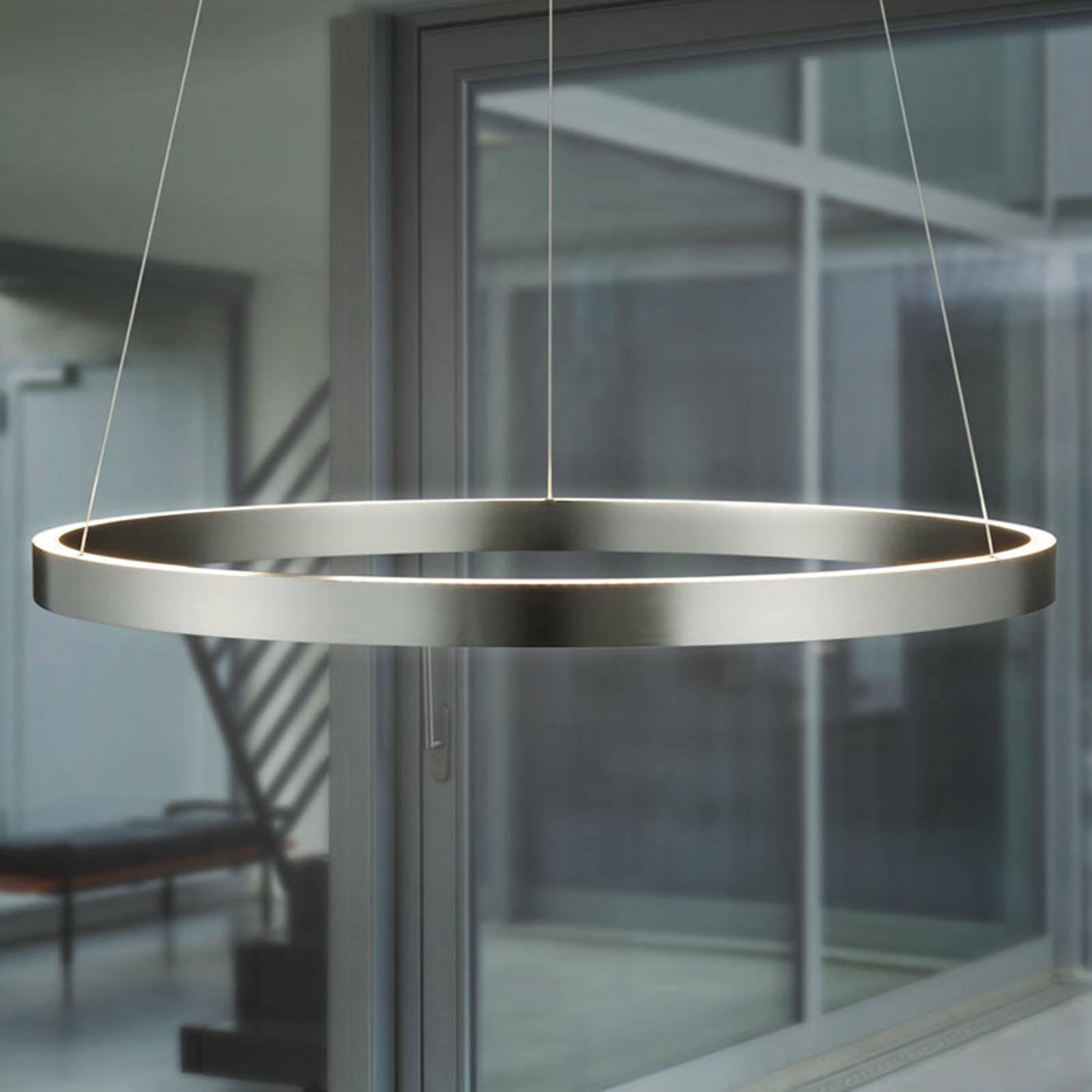 Lampa wisząca LED Circle, sterowana gestami