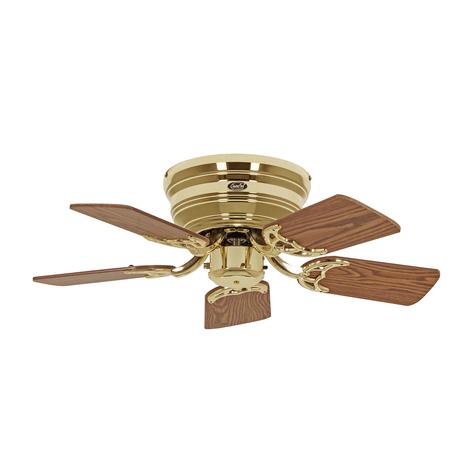 Ventilator Classic Flat III messing gepolijst