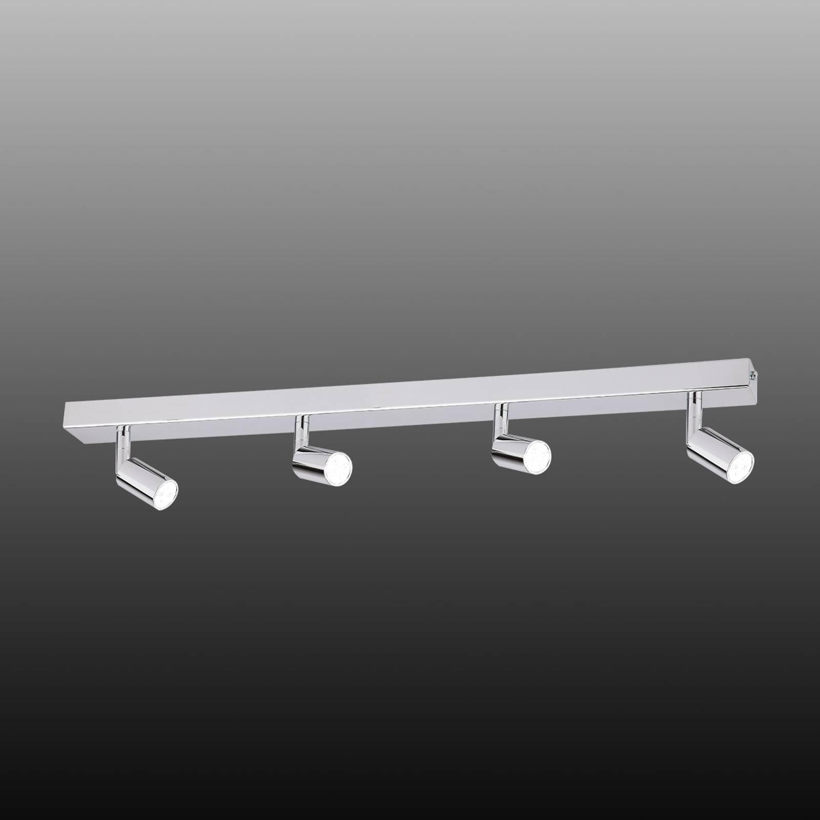 Modern gestaltete LED-Deckenleuchte 4-flg