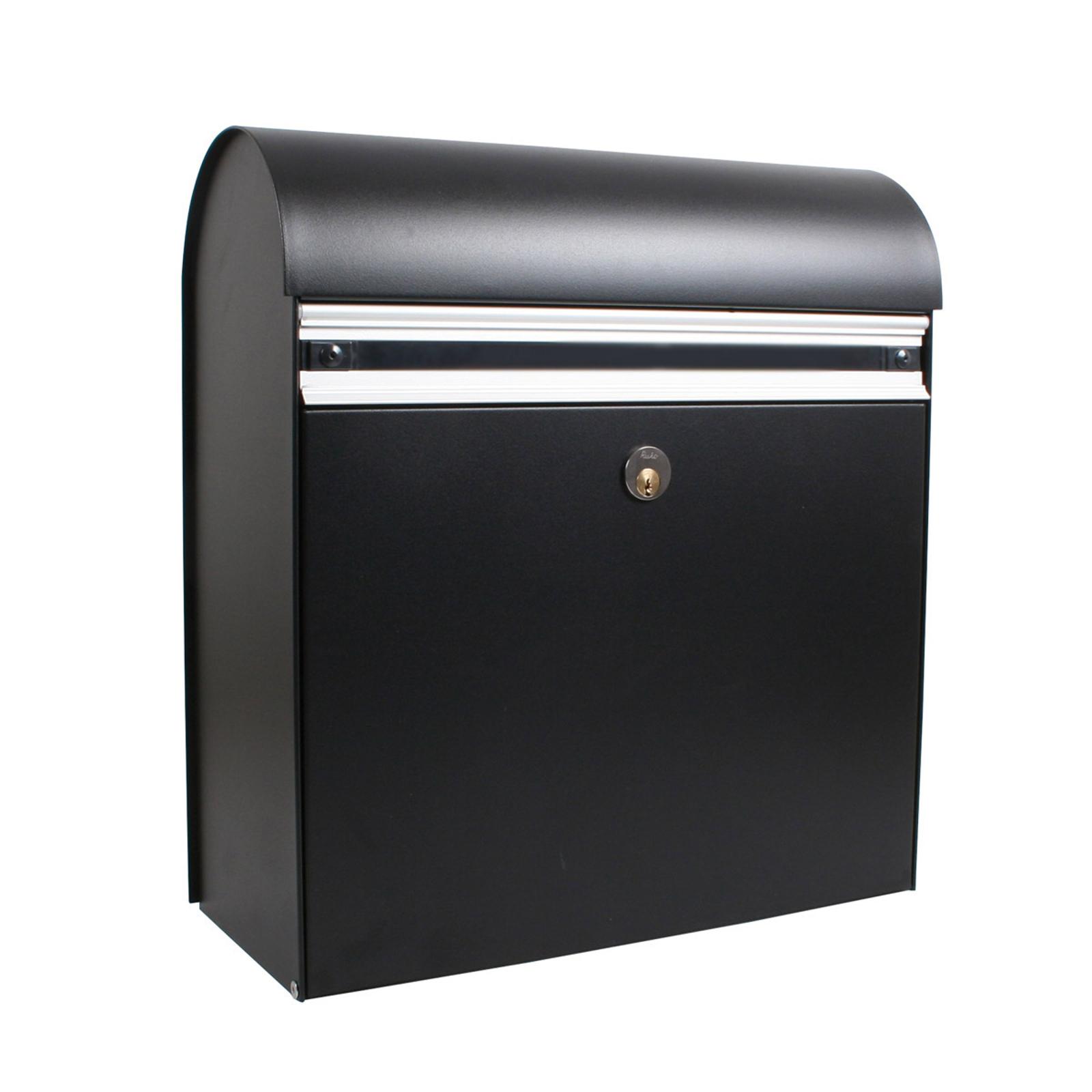 Robust postkasse KS200, svart
