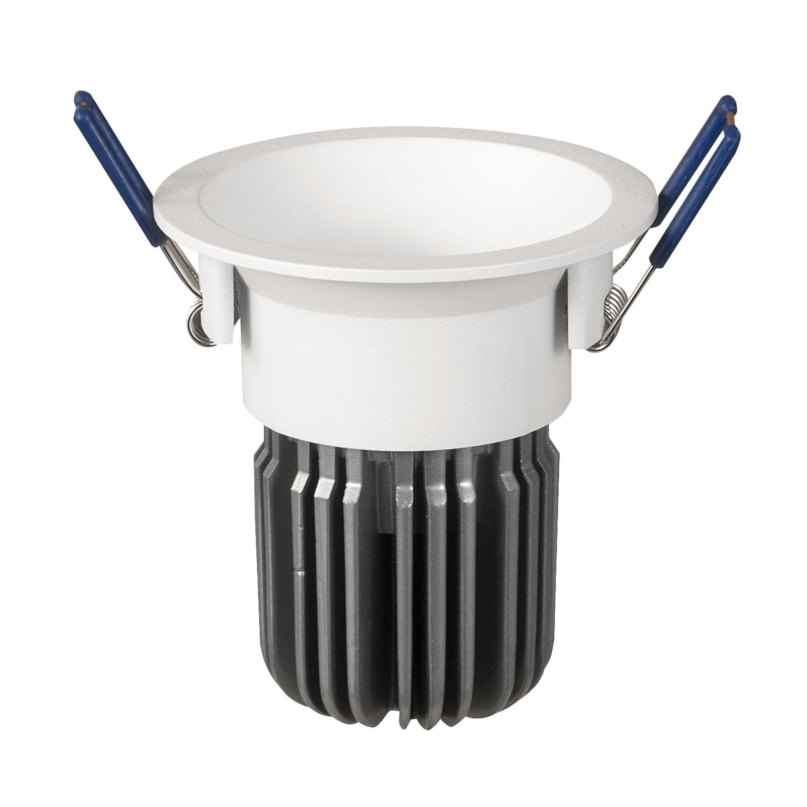 LED-Einbauspot Toodle rund symmetrisch, weiß