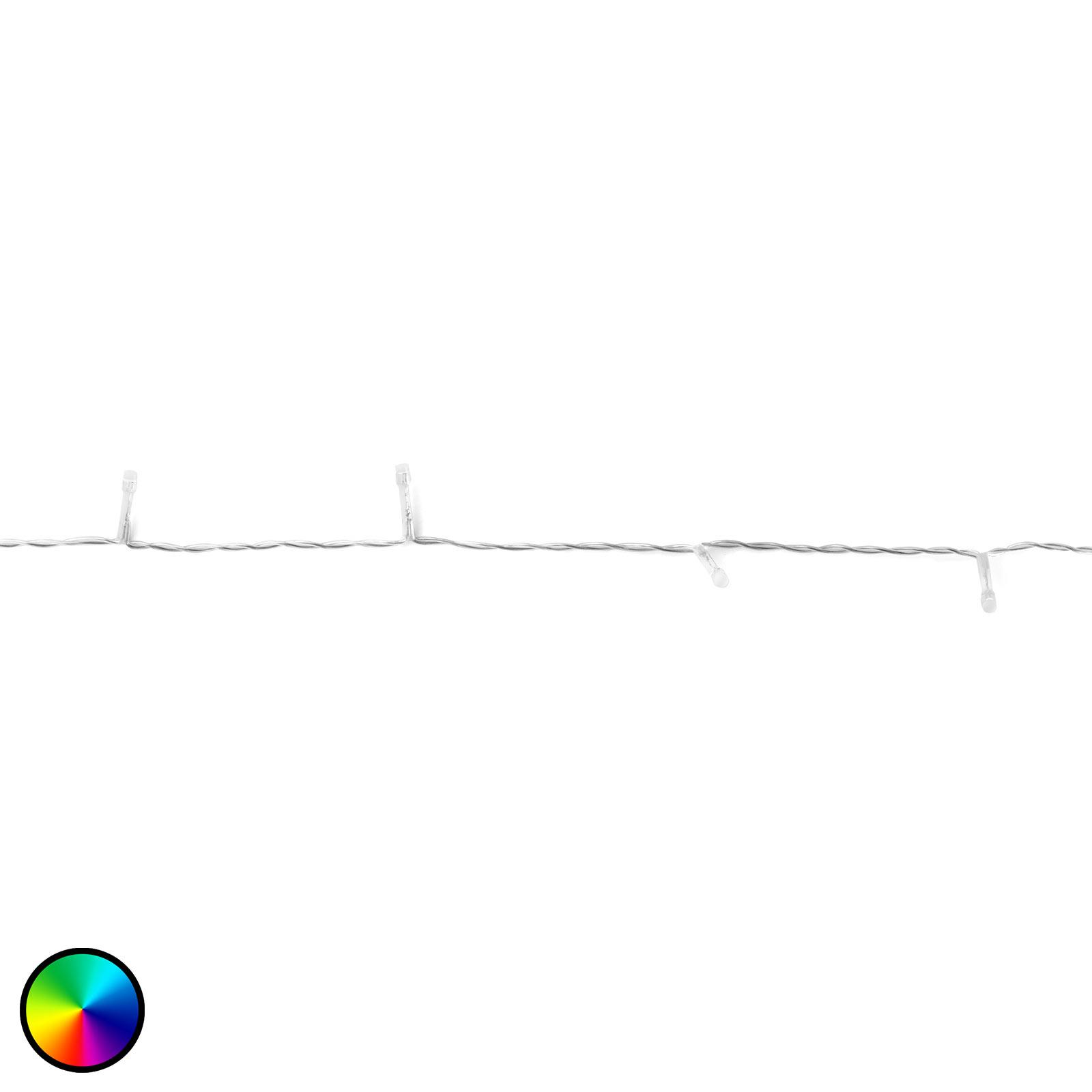 Lyslenke Twinkly RGBW, 250 lk 20m, transparent