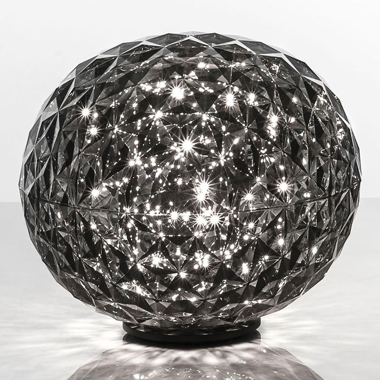 Kartell Planet - LED-Tischleuchte, rauchgrau