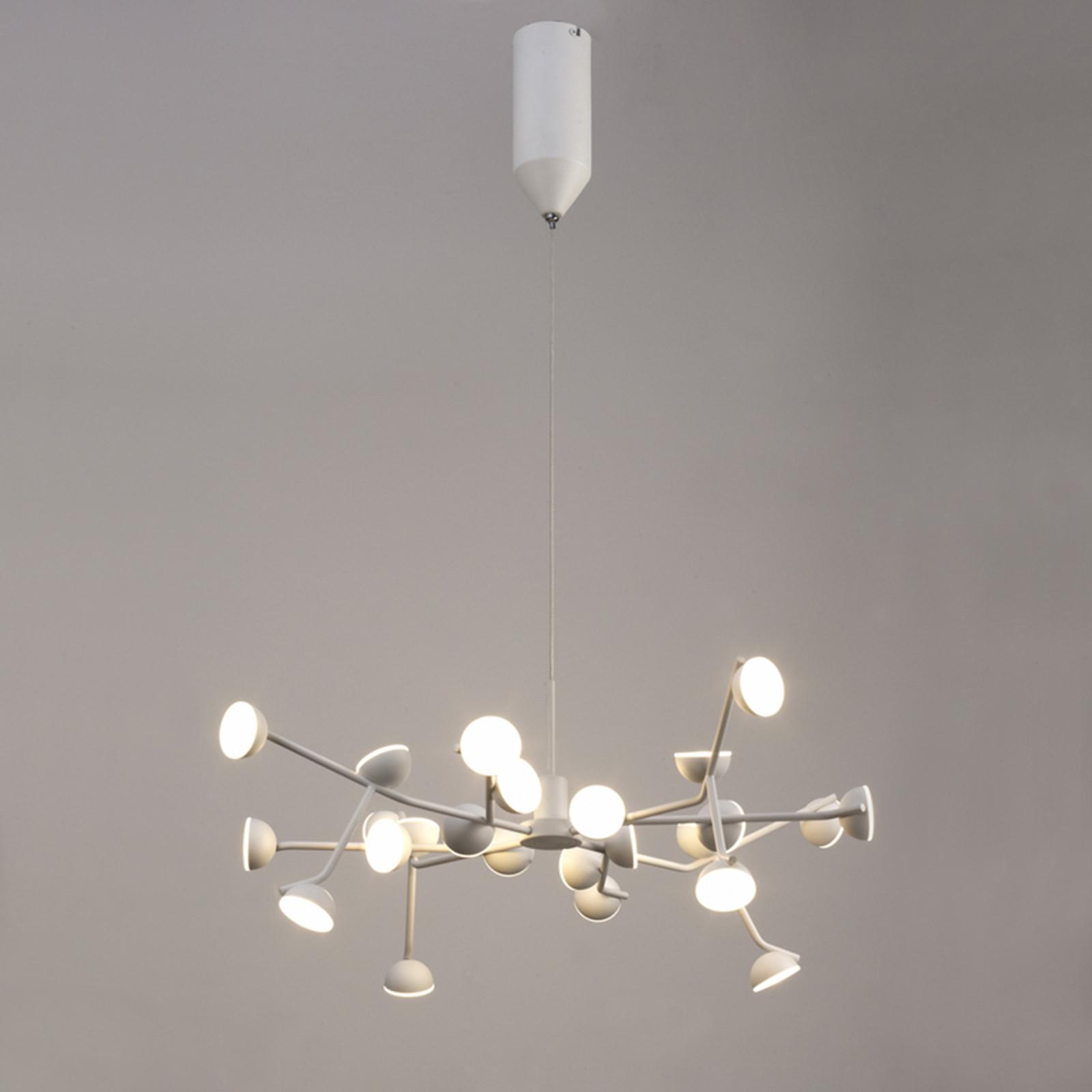LED-Hängeleuchte Adn, runde Form 24-fl.