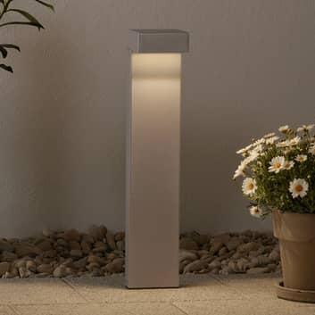 LED-pylväsvalaisin Mimik 10 Post 600, harmaa
