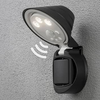 LED-Außenstrahler Prato Batteriebetrieb 16cm breit