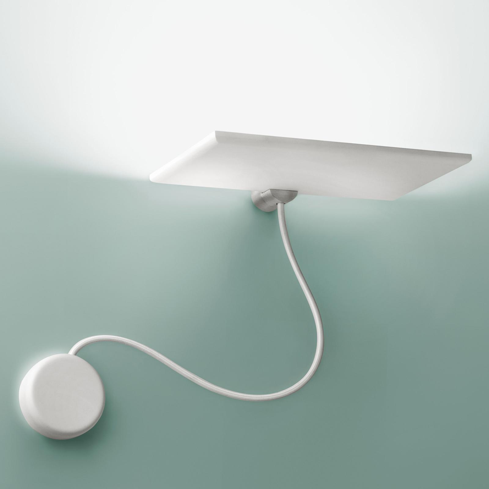 ICONE GiuUp LED-uplight væglampe, dec. 20 W, hvid