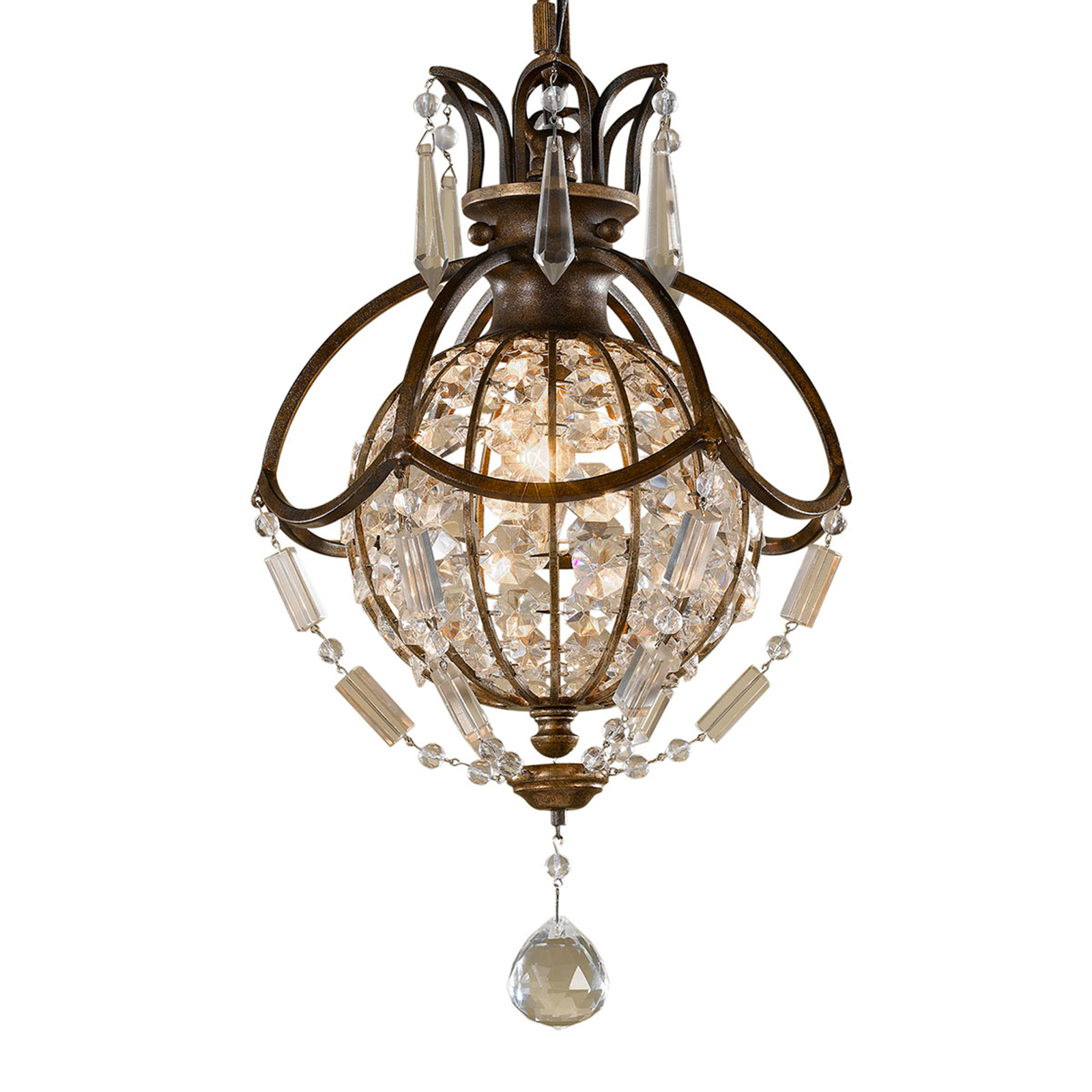 Hermosa lámpara de suspensión Bellini