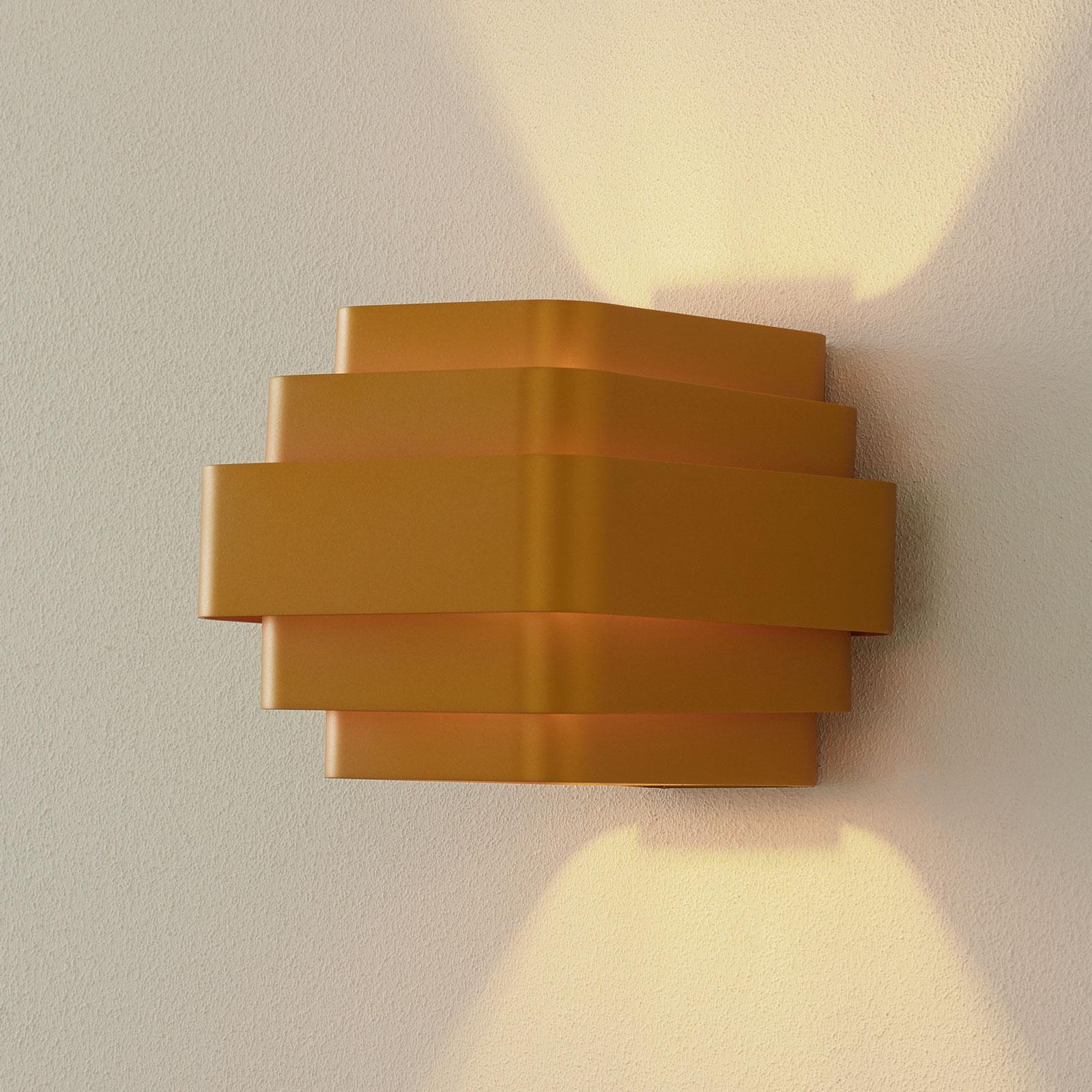 WEVER & DUCRÉ J.J.W. 02 lampa ścienna 18,8cm złota