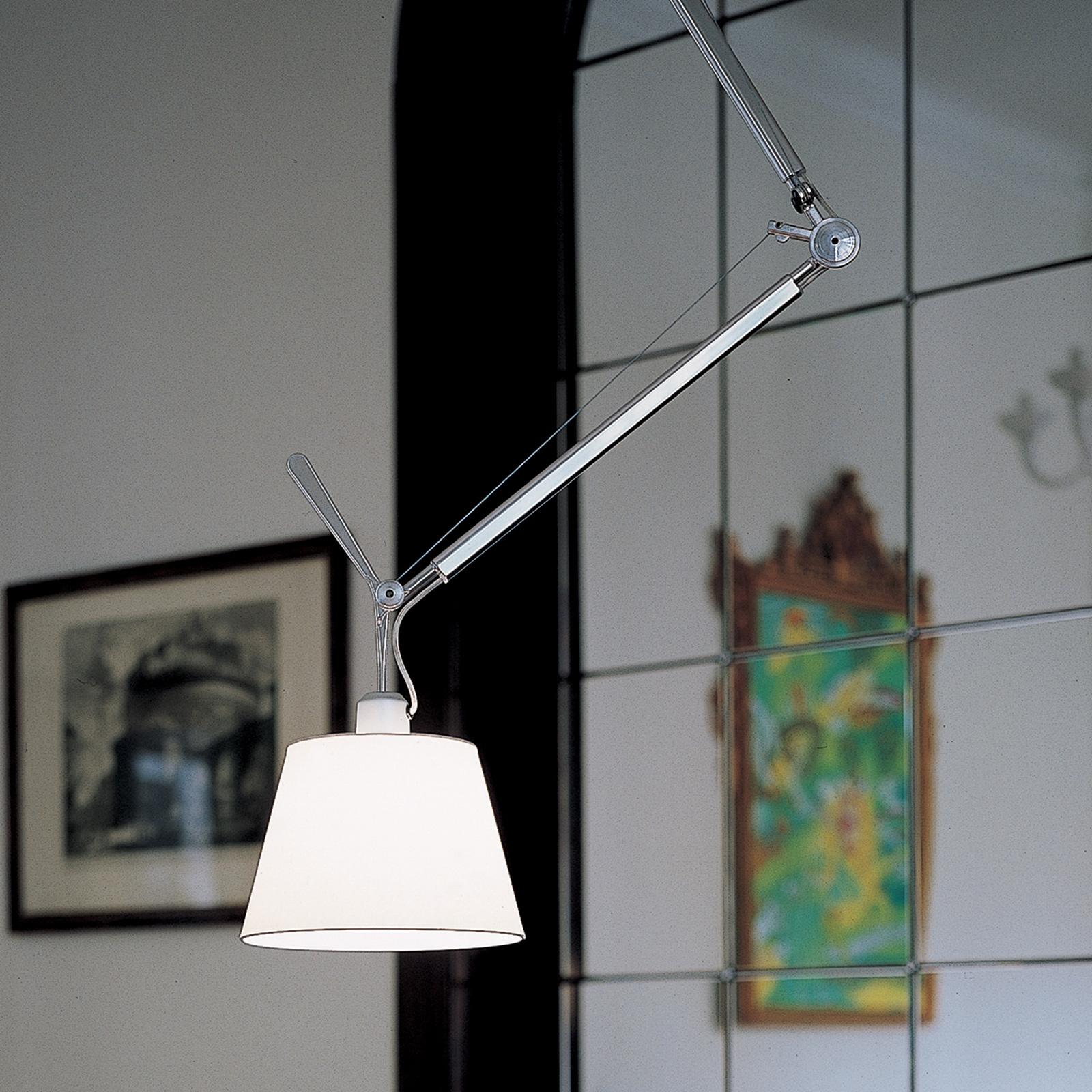 Artemide Tolomeo lámpara colgante, pergamino