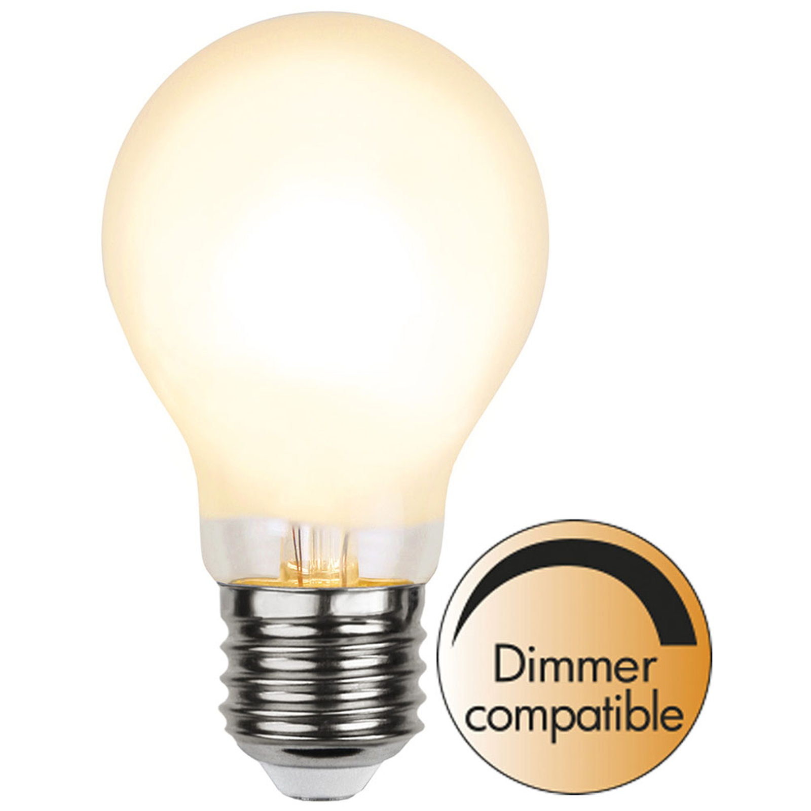 LED-Lampe E27 A60 8W 810lm dimmbar frosted