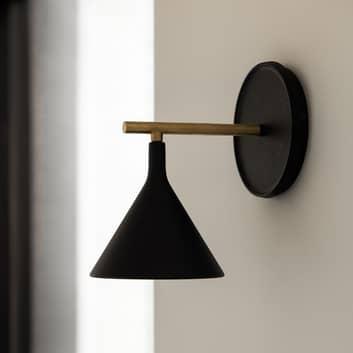 Menu Cast Sconce lámpara de pared cable y conector