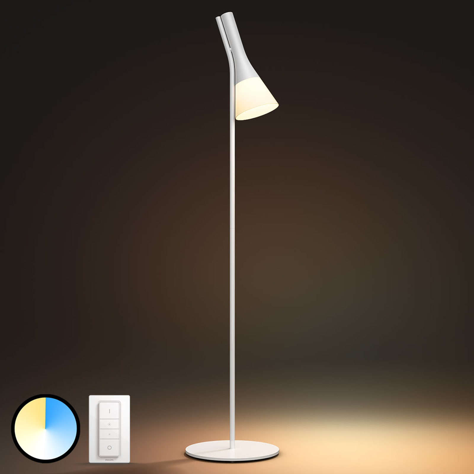 Philips Hue White Ambiance Explore Stehleuchte