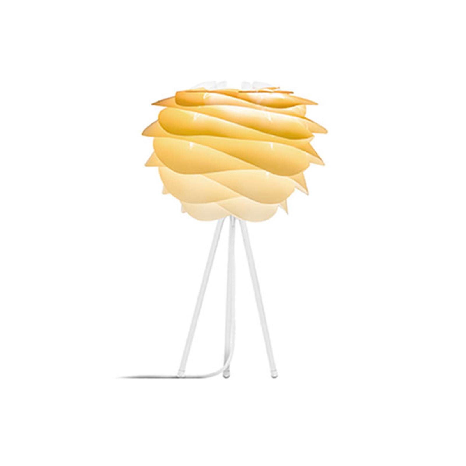 UMAGE Carmina Mini bordlampe gul/hvit