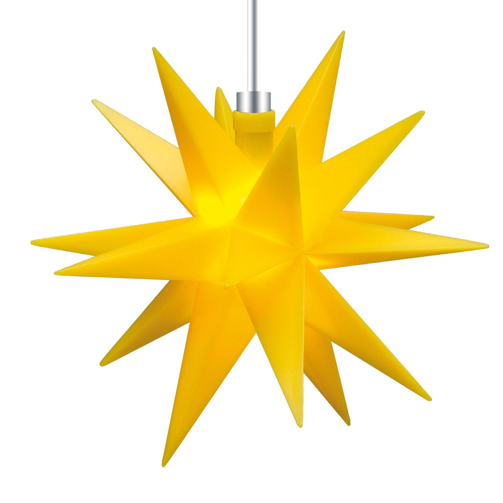Dekoracja wewnętrzna - 18-ramienna gwiazda Ø 12 cm