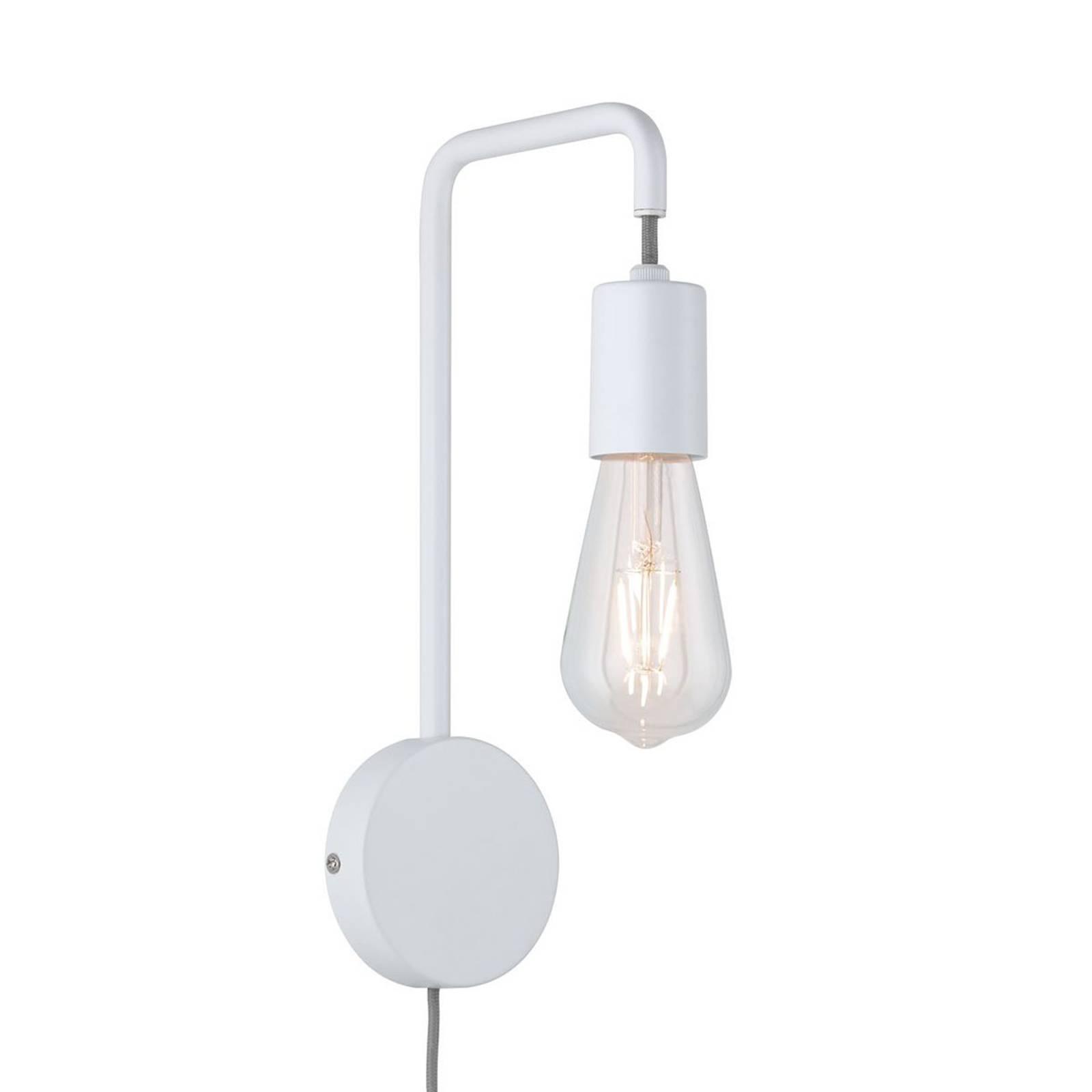 Paulmann Calvani wandlamp met kabel u. schakelaar