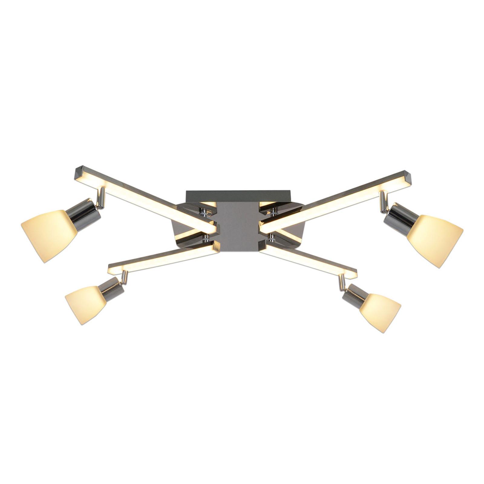 Lampa sufitowa LED Ibiza 4-punktowa