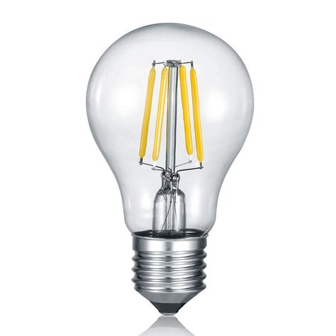 Bombilla LED filamento E27 8W switch dimmer 2.700K