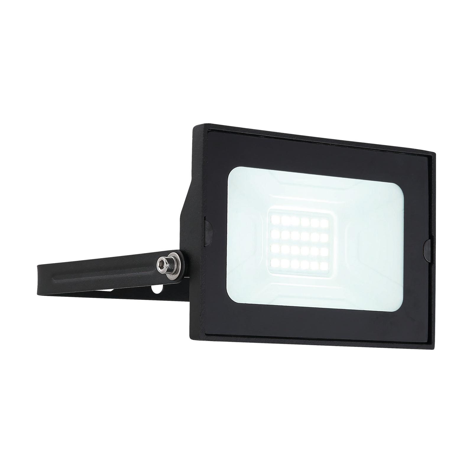 Lindby Aine LED buitenspot zwart 7,7 cm