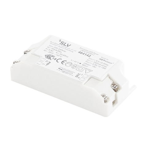 SLV driver LED 10,5W 700mA, dimmable