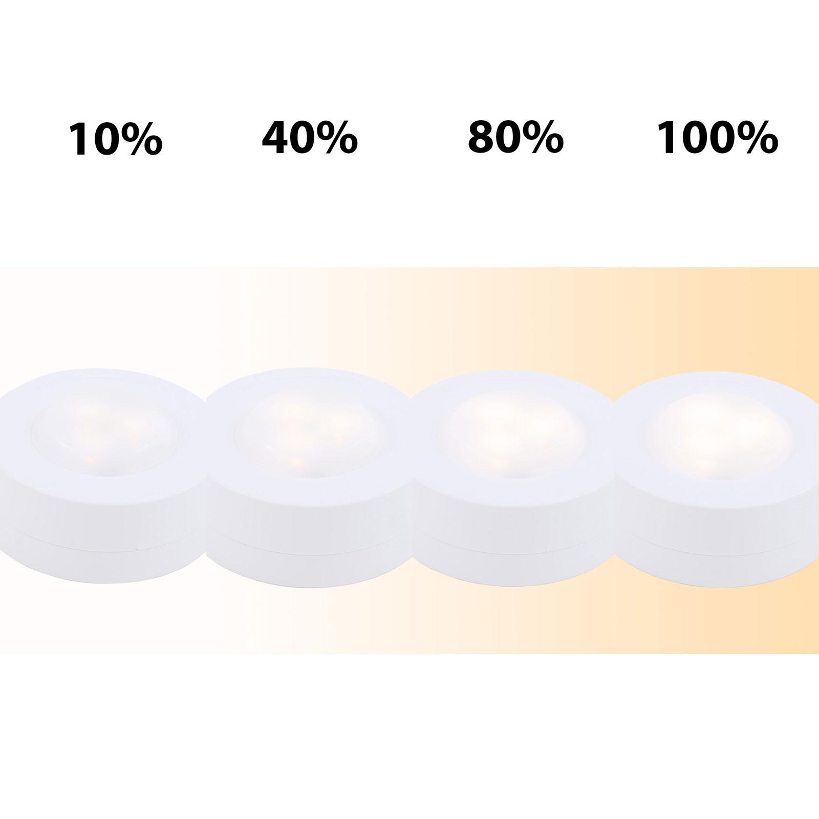 LED-Schranklicht 2632-066 6er mit Fernbedienung
