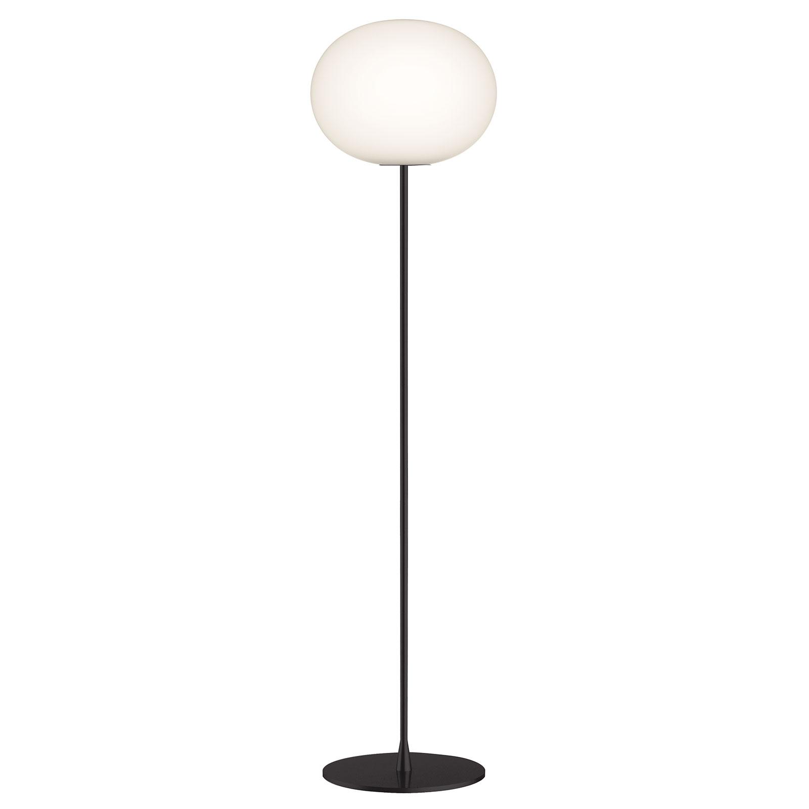 FLOS Glo-Ball F3 vloerlamp, zwart