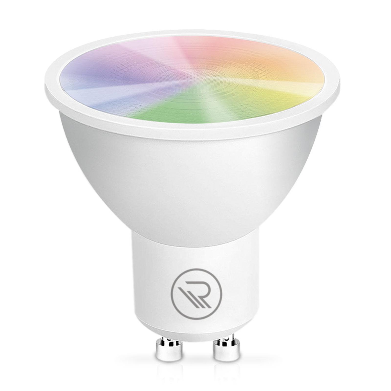 Rademacher addZ ZigBee GU10 4,8W LED-Lampe RGBW