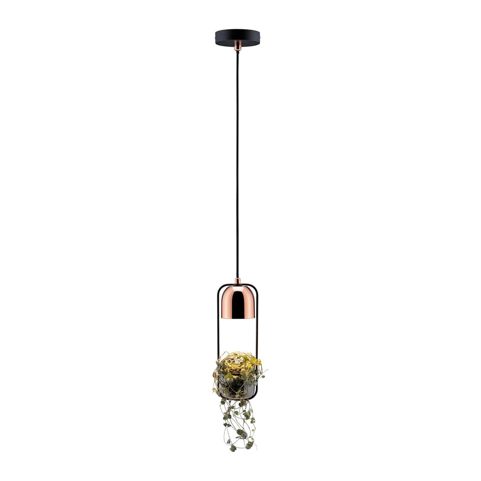 Paulmann lampa wisząca Fanja z doniczką