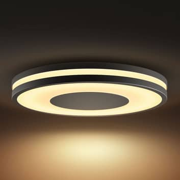 Philips Hue White Ambiance Being plafond noir